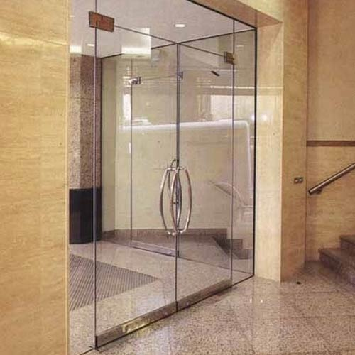 12mm Toughened Glass Door At Rs 440 Square Feet Toughened Glass Door Id 20013926188