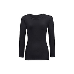 Ladies Cotton Full Sleeve T Shirt, Size: XS ?????? L