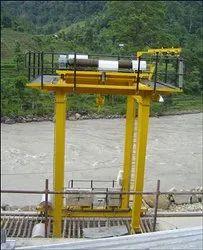 Gantry Crane Double Girder I Beam Type