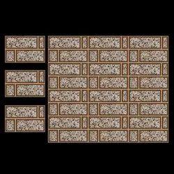 Brick Printed Glossy Elevation Wall Tile
