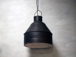 Black Industrial Light Lamp