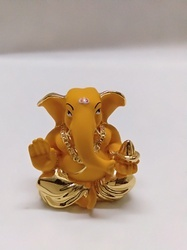 Yellow Ganesha Statue
