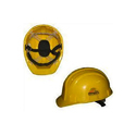 Yellow Champion Safety Helmet Without Ratchet