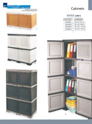 Aristo Vintage Plastic Storage Cabinet for Home