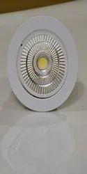 Gloled Ceramic LED Spot Light - 15 W, Shape: Round, Base Type: B22