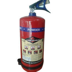 A B C Dry Powder Type Mild Steel Agni Shield Fire Extinguisher