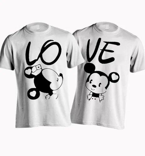 f286c3fd Ganpati T-shirts In Surat & Best Meaching Couple T shirt Customized ...