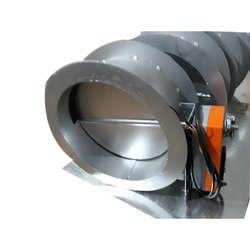 Round Fire Motorized Dampers
