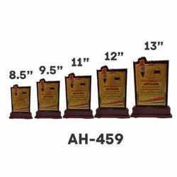 AH - 459 Wooden Trophy