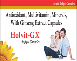 Antioxidant Multivitamins Minerals With Ginseng Extract Capsules