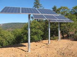 Single Pole Mounted Solar Structures