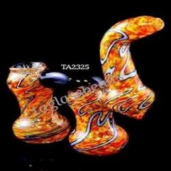 Sun Shine Glass Smoking Pipe