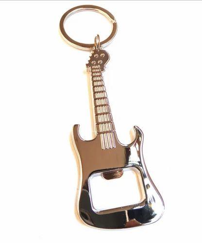 Stylish Guitar Shaped Key Chain Cum Bottle Opener 11d5ccfff