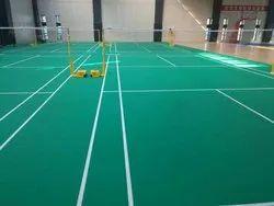 Indoor Badminton Court Flooring, Thickness: 12 - 25mm