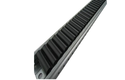 Black PE Small Wheel Roller Track