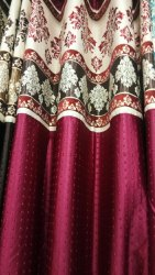 Fancy Eyelet Curtain, Size: 7 To 9 Feet Length