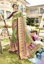 Designer Chiffon Brasso Party Wear Viscous Saree