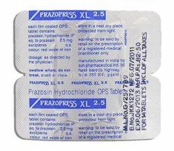 Prazosin Hydrochloride Tablets 2.5 mg