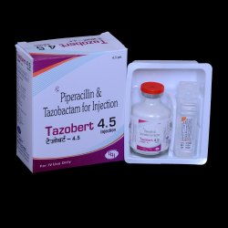 Piperacillin And Tazobactum 4.5 g Injection
