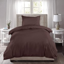 Cotton Single Striped Bed Sheet
