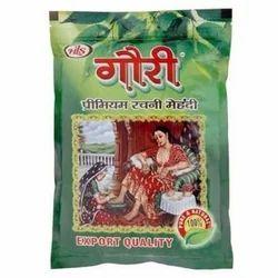 Powder Gauri Rachni Mehandi, Zipper Lock Poly
