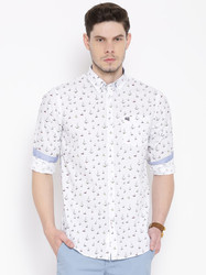 Full Sleeves Solid Stiles Casual Shirts