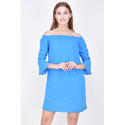 Blue Surplus Ladies Dress