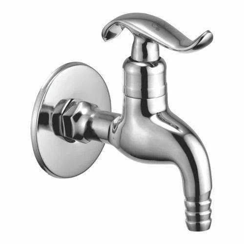 Brass Silver Designer Nozzle Bib Cock Water Tap Rs 369 Piece Shivam Trading Id 16700790191