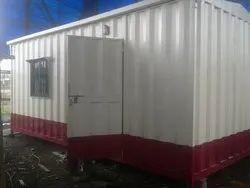 Mild Steel Office Cabin