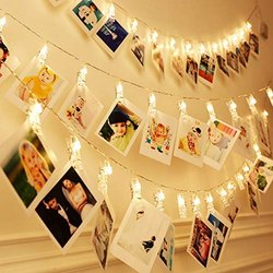 Warm White Photo Clip Light For Decoration Diwali Wedding Festival Lights