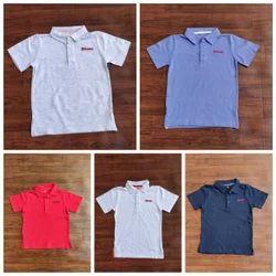Boys Branded Polo T Shirt