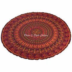 Beach Mandala Tapestry