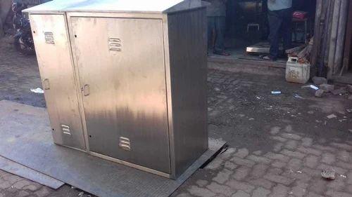Metro Steel Mfg Co  SS 304 Railway Location Box | ID