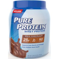 Pure Rich Chocolate Whey Protein Powder, Packaging Size: 400 Gm