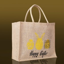 Simple Jute Shopping Bag