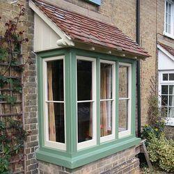 Coloured Window Frame
