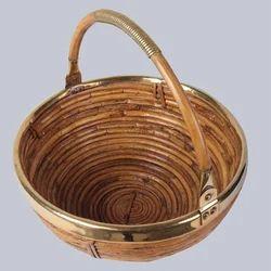Deep Round Fruit Cane Basket