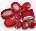 Dyed Ruby Gemstone