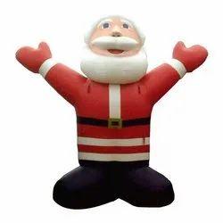 X Mas Inflatable Santa