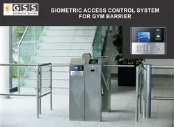 Gym Barrier Biometric Access Control System with Access Card
