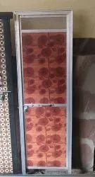 Floral Print PVC Doors