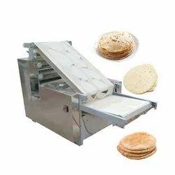 Frisbee Stainless Steel Semi Automatic Chapati Making Machine