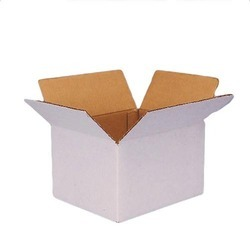 Kraft Paper White And Brown High Quality Corrugated Packaging Box