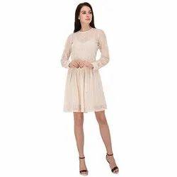White Party Wear Dress