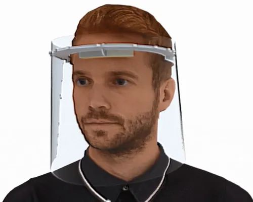 Non disposable Face Shield (10 Sheets/Pack)