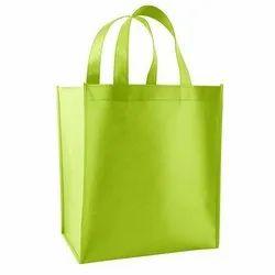 Green Jute Shopping Bag