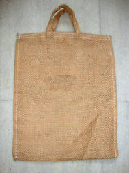 Unprinted Jute Bag With Short Handle