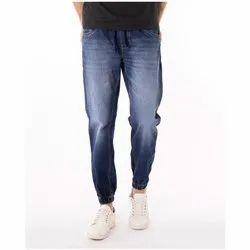 Mens Casual Denim Jogger Pant, Waist Size: 28-36