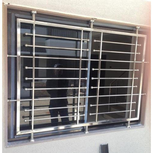 Window grills design home windows glass for Window design grill photos