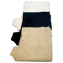 Mens Linen Cotton Pant